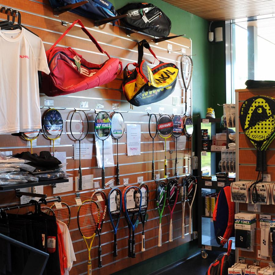Talihalli Pro Shop.