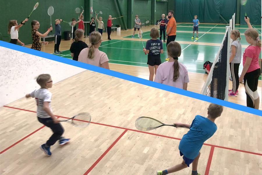EasySport sulkapalloa ja squashia