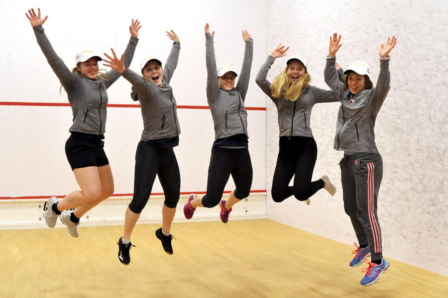 Squashliiga naiset 2018